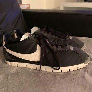 san francisco 1e198 6f2a3 Nike Shoes - Nike Cortez NM QS Black Sail Metallic Silver Sz 10